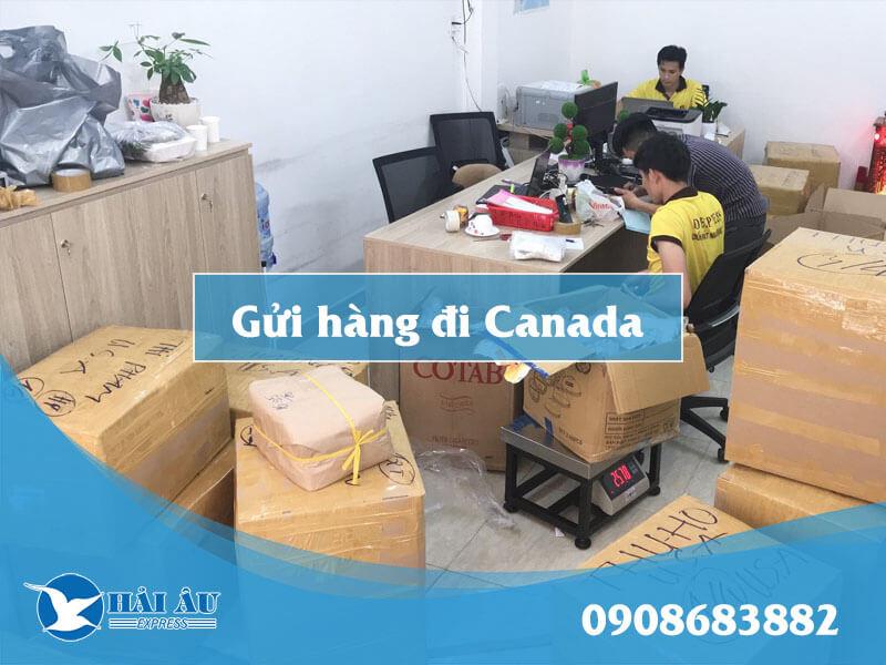 Gửi hàng đi Canada Hải Âu Express